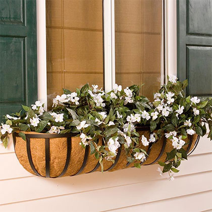 Hay Rack Window Boxes