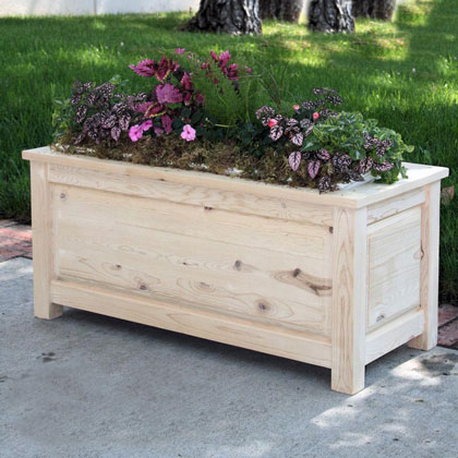 Wooden Planters Deck Planters Wood Planter Boxes Material Wood