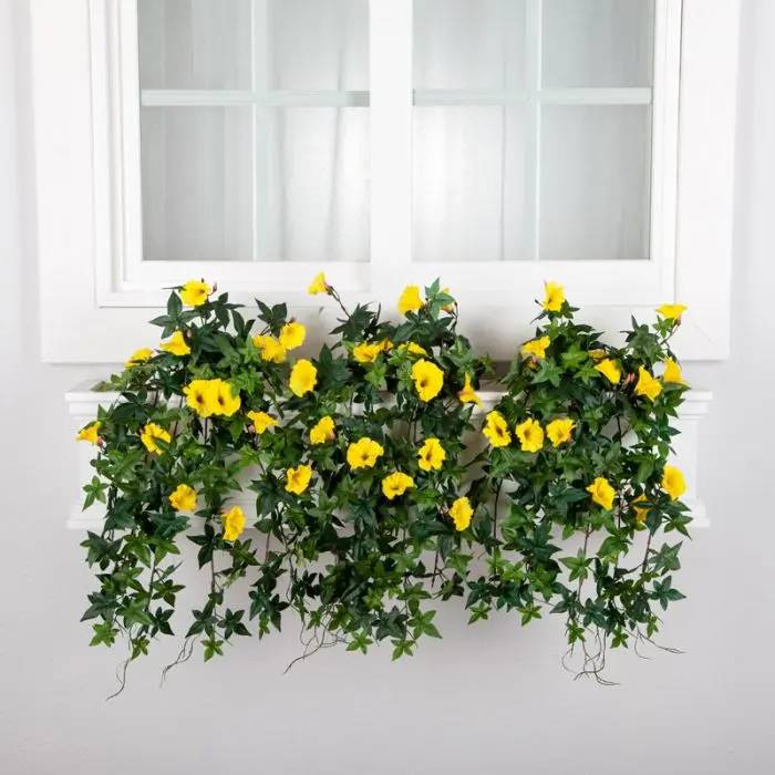 Outdoor Artificial Flowers Uv Resistant Faux Flowers