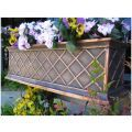 60in. Copper ArmoreCoat La Fleur Window Box
