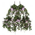 60in. Window Box Recipe - Outdoor Artificial Morning Glory Vines