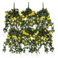 72in. Window Box Recipe - Outdoor Artificial Morning Glory Vines