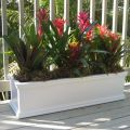24in. Laguna Rectangular Premier Composite PVC Patio and Deck Planter