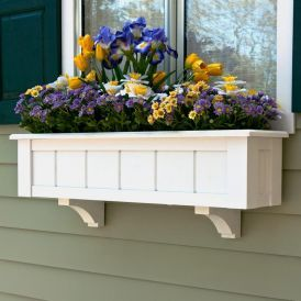 """Coronado Premier Window Boxes w/ """"Easy Up"""" Cleat Mounting System"""