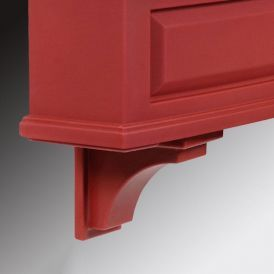 Presidential Decorative Brackets Red (2pk)