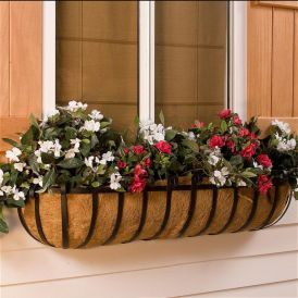 XL Scroll Window Boxes