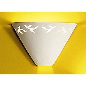 "10.5"" Bowed Branches Contemporary Funnel Sconce"