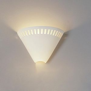 "10.5"" Fancy Funnel Contemporary Wall Sconce"