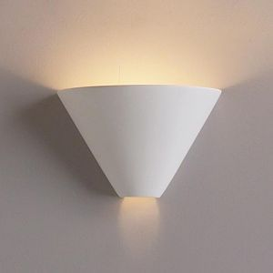 "10.5""  Funnel Contemporary Ceramic Sconce"