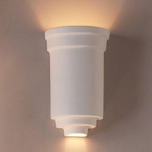 "10""  Embellished Jar Classic Wall Sconce"