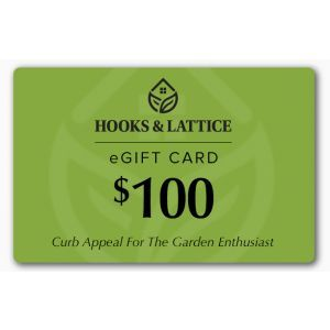 $100 Hooks and Lattice Gift Certificate