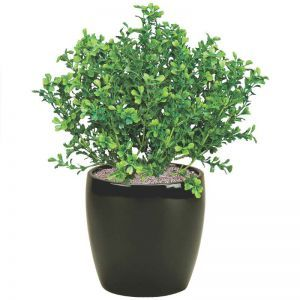 12in. Artificial Boxwood Bush Outdoor Rated
