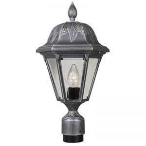 Falconridge Line Voltage Post Light Fixture