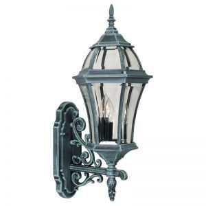 Parkridge Line Voltage Bottom Mount Porch Light Fixture