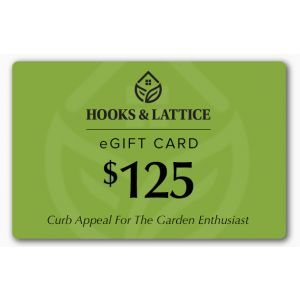 $125 Hooks and Lattice Gift Certificate