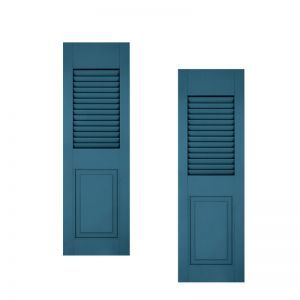 12in. Wide - Architectural Collection Combination Composite Fiberglass Shutters (pair)
