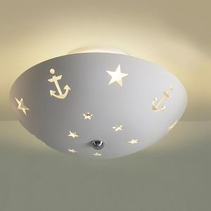 "13.5"" Starlight Anchors Children's Ceiling Light"