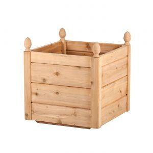 14in. Bonita Cedar Deck Planter