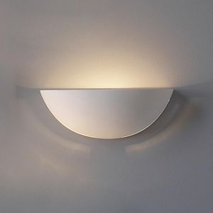 "15"" Clean Bowl Sconce w/ Side Slits"