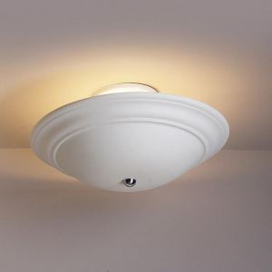 "15"" Shallow Saucer Ceiling Light"