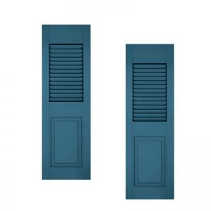 15in. Wide - Architectural Collection Combination Composite Fiberglass Shutters (pair)