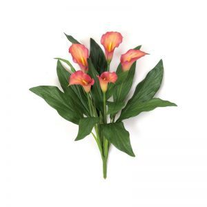 18in. Calla Lily Bush - Mauve/Pink|Indoor - NFR