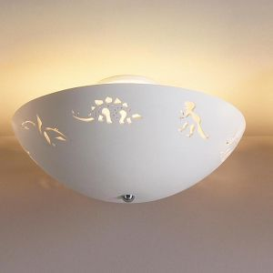 "18"" Dinosaur Dreams Children's Ceiling Light"