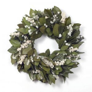 "18"" Salal Winter Wreath"