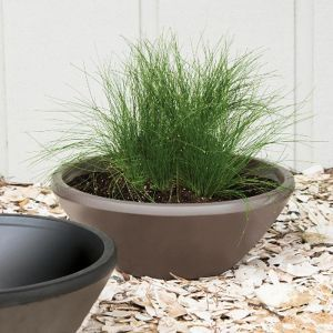 19in. Lanai Low Bowl Planter