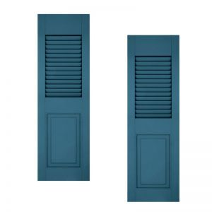 21in. Wide - Architectural Collection Combination Composite  Fiberglass Shutters (pair)