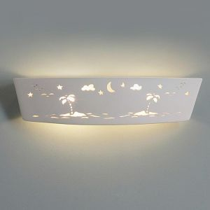 "23.5"" Island Star Gazing Children's Bathroom Light"