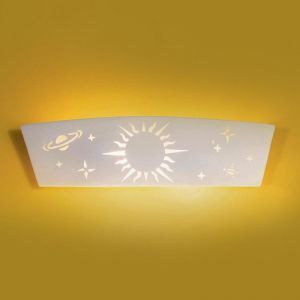 "23.5"" Milky Way Children's Bedroom Sconce"