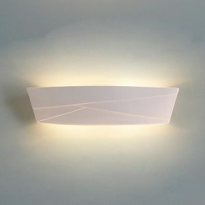 "23.5"" Modern Lines Ceramic Vanity Light"