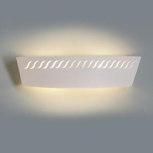 "23.5"" Sheer Pattern Ceramic Vanity Light"