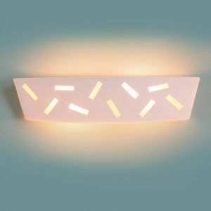 "23.5"" Ticker Tape Motif Vanity Light"