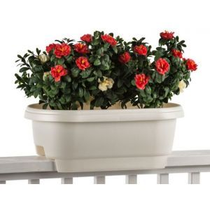Regent Deck Rail Planter Box - Three Colors