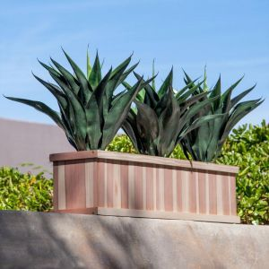 24in. Paneled Redwood Window Box