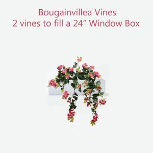 Artificial Bouganvillea Vines for Window Boxes