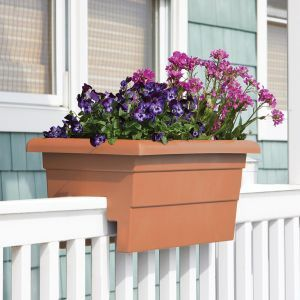 "24"" Countryside Railing Planter - Terra"