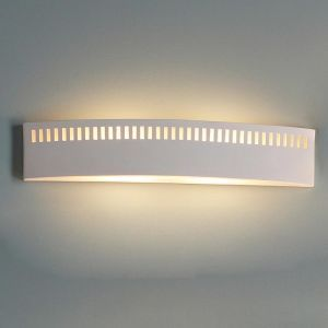 "27.5"" Modern Bathroom Light w/ Border Pattern"