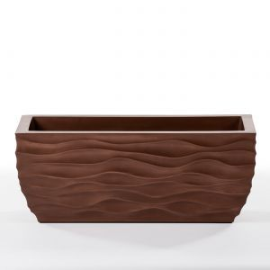 30in. Modern Wave ArmoreCoat Planter