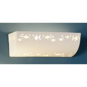 """18.5"""" Fish Frenzy Children's Wall Sconce"""