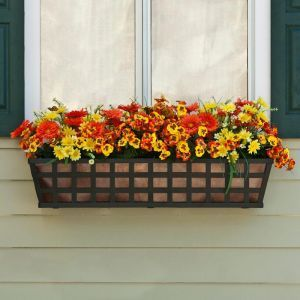 Santiago Decora Window Boxes With Metal Liners