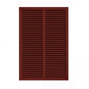 36in. Wide - Architectural Fiberglass Bahama Shutter w/ Hardware Kit (Non Storm Rated)