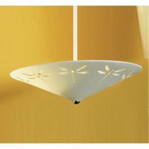 """17"""" Dragonfly Drop Ceiling Light"""