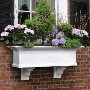 Provincial Vinyl Window Box -7 sizes