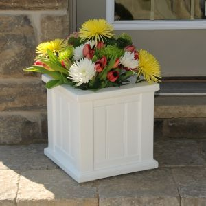 "Promenade 14"" Patio Planters - 3 Colors"