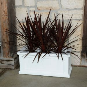 "Promenade 24""x11"" Patio Planter - 3 Colors"