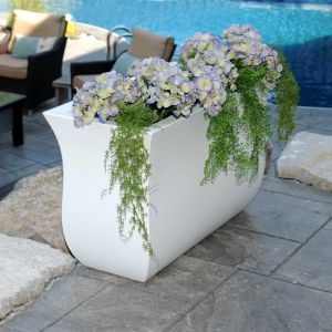 Parada Curved Rectangle Planters - 5 Colors to Choose From!