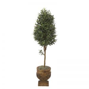 6' Artificial Olive Tree Topiary - Indoor